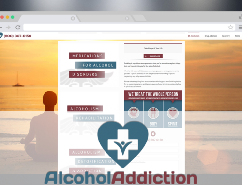 Alcohol Addiction – Redesign, Logo, Marketing