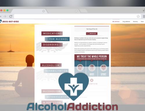 Alcohol Addiction – Redesign, Logo, Marketing